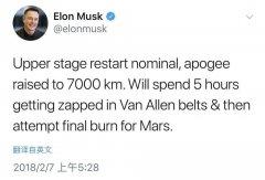 Elon Musk 成功送特斯拉跑车到火星,顺便开启了人类航天新未来