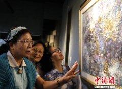 台湾师范大学、华侨大学作品交流展在台北举办