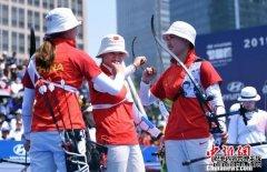2019射箭世界杯上海站落幕 中国队收获一银一铜