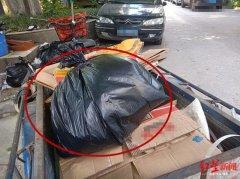 一辆废品车引矛盾 业主买臭味剂报复