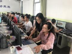 甘肃省电教中心赴环县指导中小学教师信息技术应用能力培训