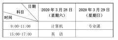2020年天水师范学院普通高等学校专升本招生简章
