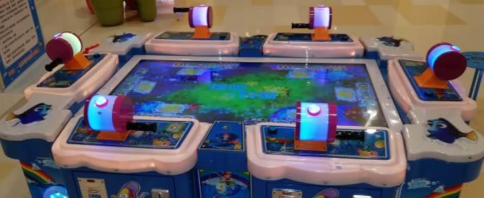 打鱼游戏机都有哪些部件组成?